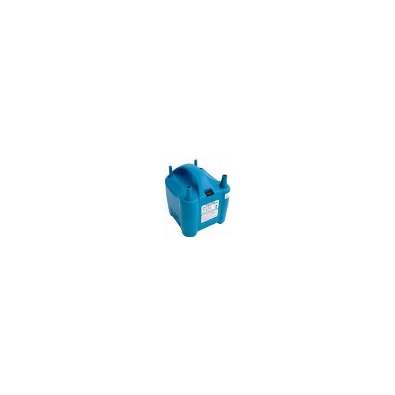 Elektrische ballonnenpomp blauw