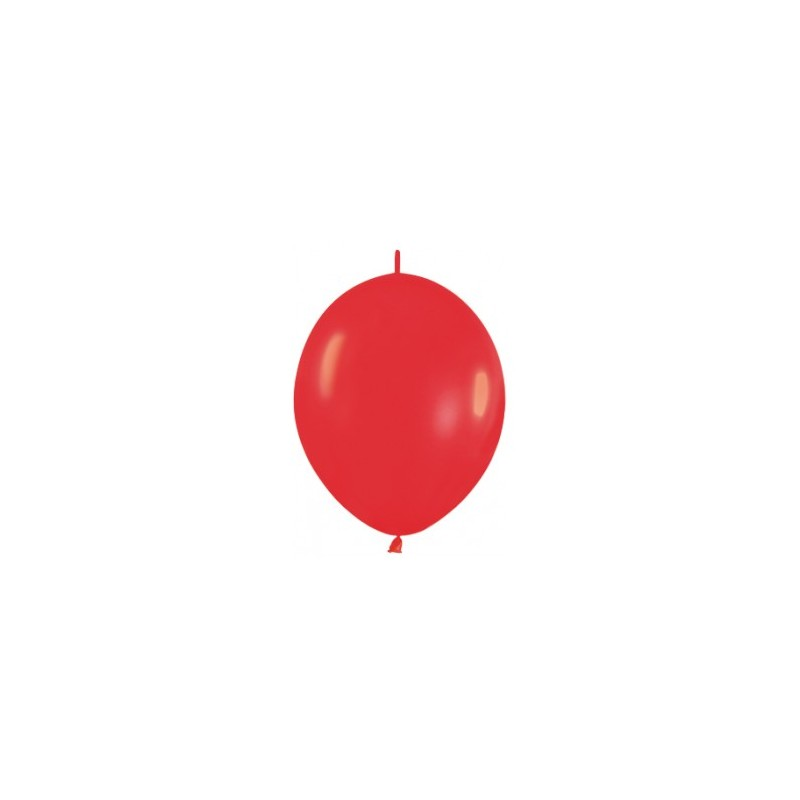 Link-o-loon 6 inch/15 cm Red (015) per 50st.