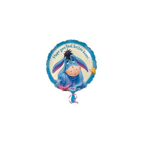 Folie Ballon get well eyeore