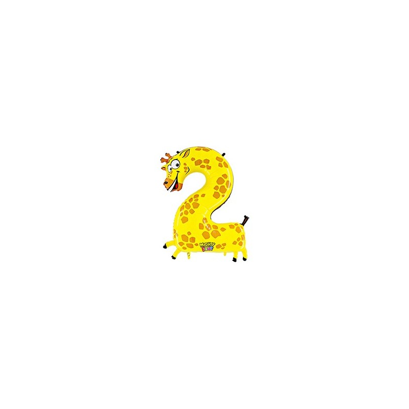 Zooloon Cijfer 2 (Ongevuld)