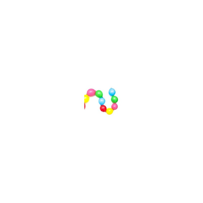 Aanbieding !!  300 ballonnen assortiment 10 inch/12inch en doorknoopballonnen + gratis pomp