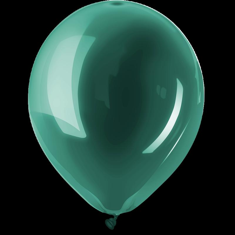 Ballonnen Standaard Turqoise  per 100 st.