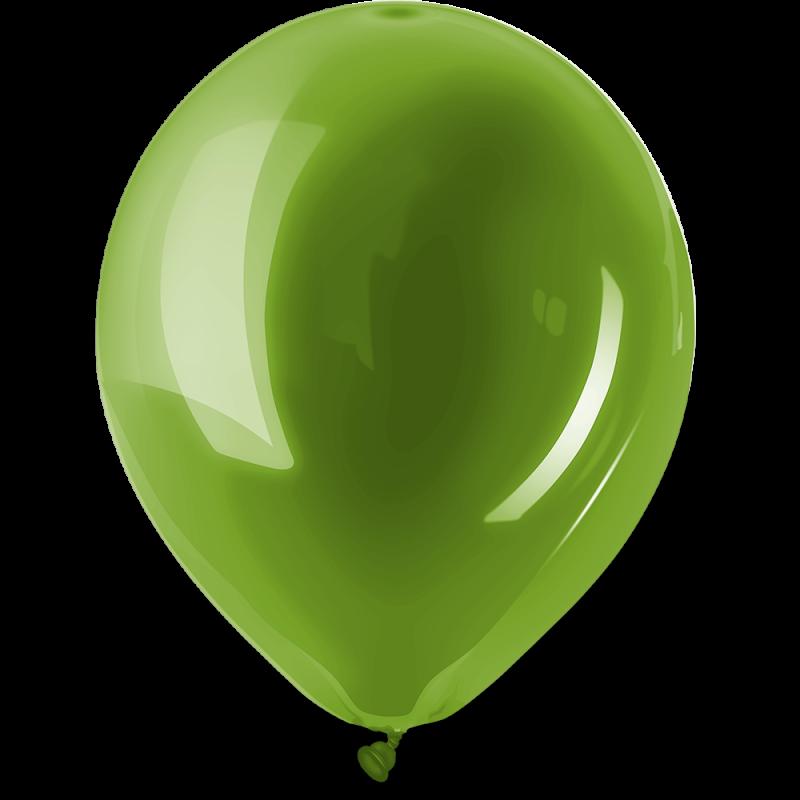 Ballonnen standaard Lime groen per 10st.