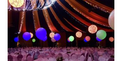 Ballon met led verlichting
