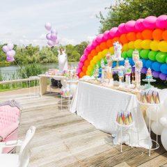 Ballon rainbow ballondecoratie