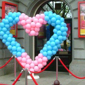 Ballonnen hart